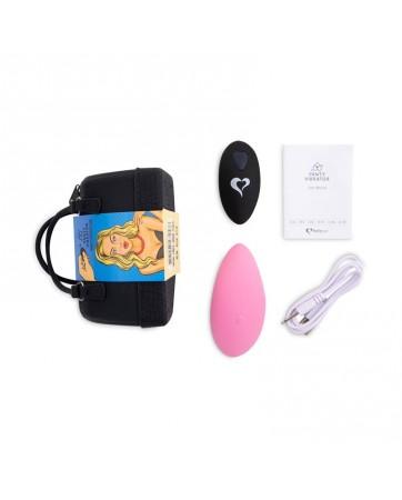Panty Estimulador de Braguita con Control Remoto Rosa