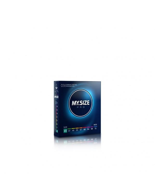 Pro Preservativos Talla 45 Caja de 3 Uds