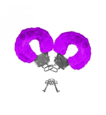 Neon Esposas Forradas Color Purpura