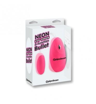 Neon Balla Vibradora 5 Funciones Luv Touch Rosa