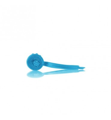 Neon Anillo Vibrador Azul