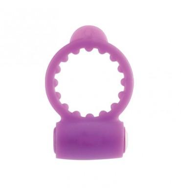 Neon Anillo Vibrador Purpura