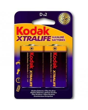Xtralife Pila Alkalina D LR20 Blister de 2