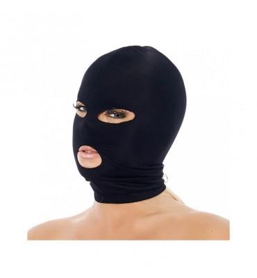 Mascara con Abertura Boca y Ojos Negro