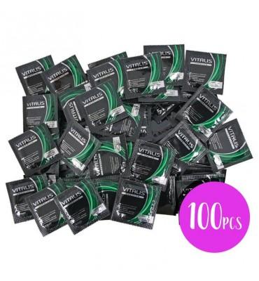Vitalis Bolsa 100 Uds Manzana Color Verde