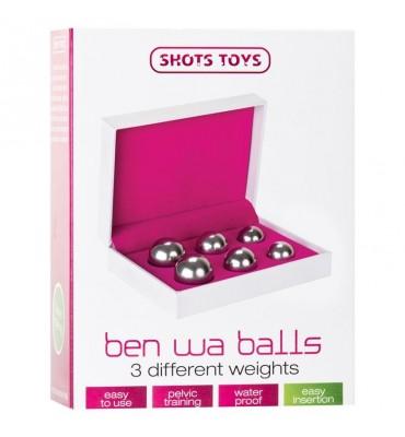 Shots Toys Bolas Ben Wa Silver