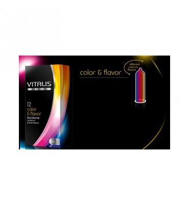 Vitalis 12 Uds Color Flavor