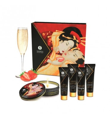 Shunga Kit Secretos de una Geisha Vino Espumoso