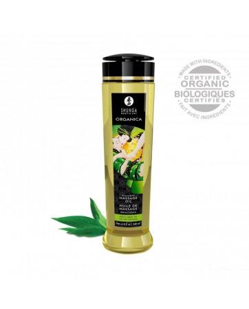 Aceite de Masaje Organico Te Verde 240 ml