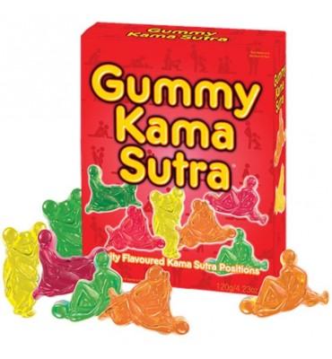 Gominolas Posturas del Kamasutra Sabor a Frutas