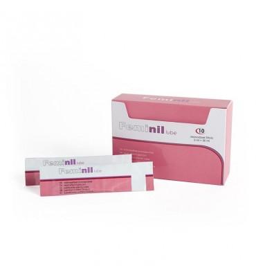 Lubricante Efecto Calor Feminil Lube 10 Monodosis 5 ml