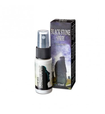 Black Spray Retardante Stone 15 ml