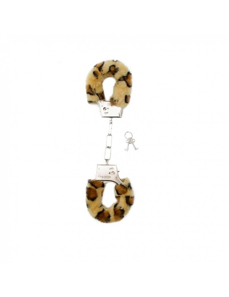 Shots Toys Furry Esposas Leopardo