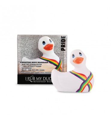 Estimulador I Rub My Duckie 20 Pride Blanco