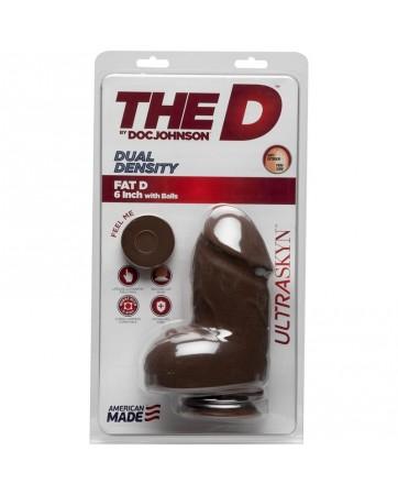 Dildo Dual Density Fat D...