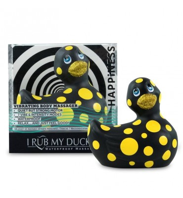 Estimulador I Rub My Duckie 20 Happiness Negro y Amarillo