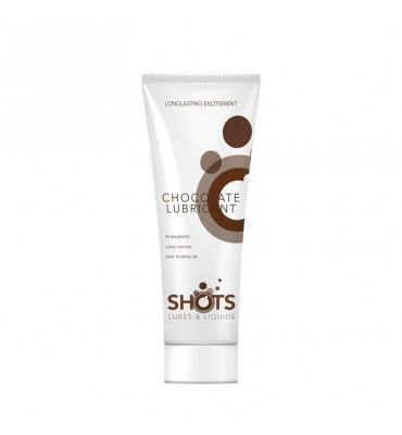 Shots Lubes Liquids Chocolate Lubricante 100 ml