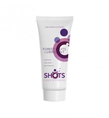 Shots Lubes Liquids Frutos del Bosque Lubricante 100 ml