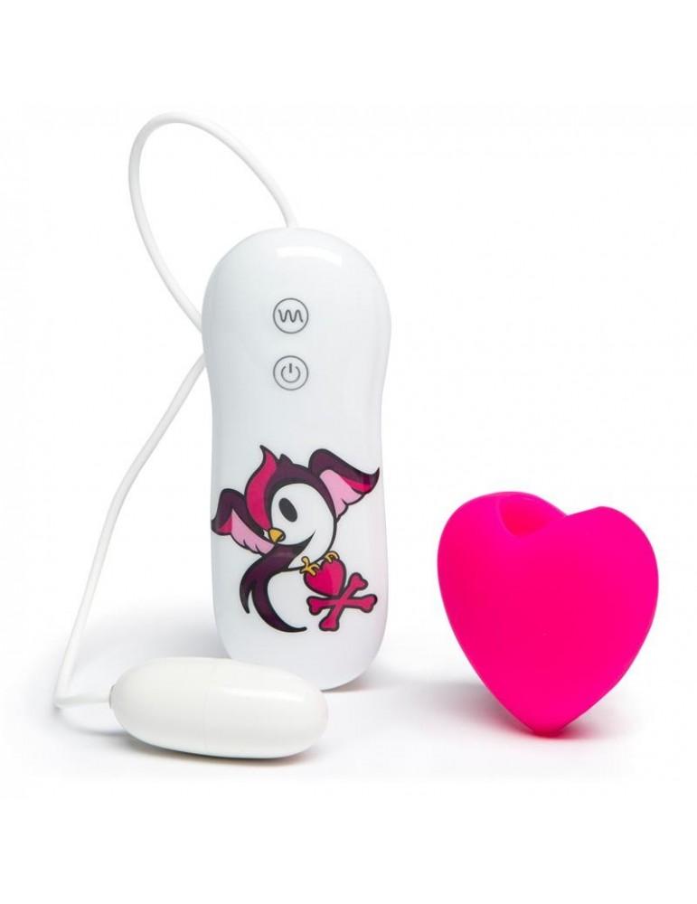 tokidoki 10 Function Estimulador Vibrador Clitoris Rosa