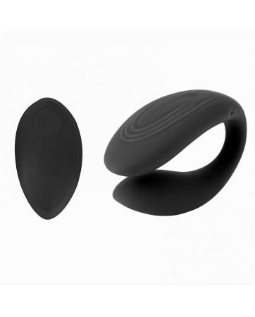 Couply Juguete para Parejas con Control Remoto USB Unibody Silicona Liquida
