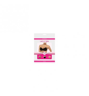 Bye Bra Lace it Bra Cup A Black Colour