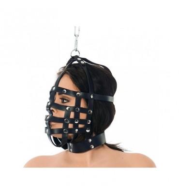 Máscara Cuero con Forma de...