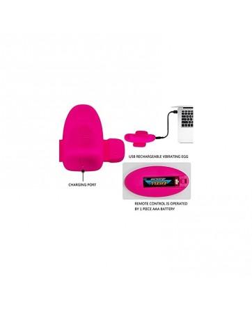 Estimulador de Braguita USB Control Remoto Fairy Boat II