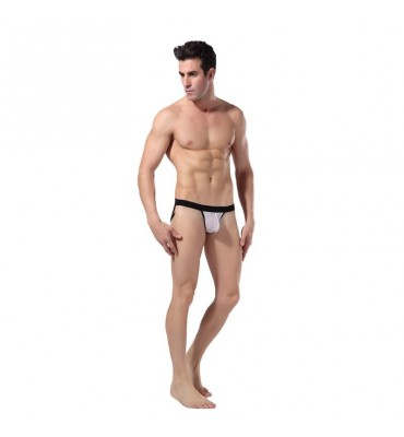 Jock Suspensorio Color Blanco