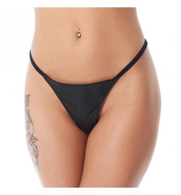 Rimba Bondage Play Tanga Color Negro Talla unica