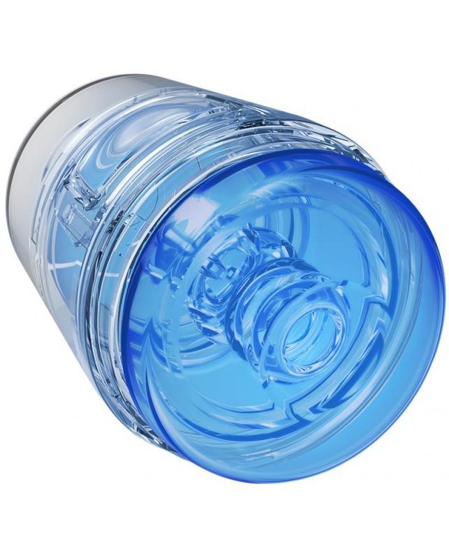 Masturbador Masculino Pop Off Optix Crystal Blue
