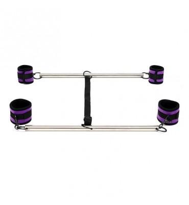 Barra Ajustable para Brazos y Piernas Color Purpura