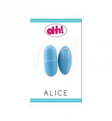 Huevo Vibrador Alice Azul...