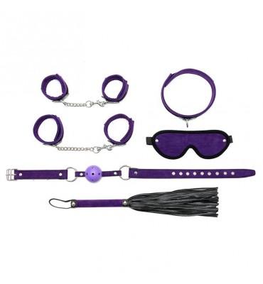 Rimba Bondage Play Set de Bondage 6 Piezas Color Purpura