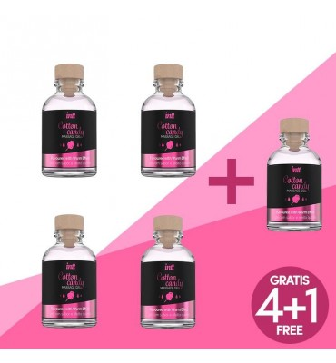 Pack 41 Gel de Masaje Cotton Candy 30 ml