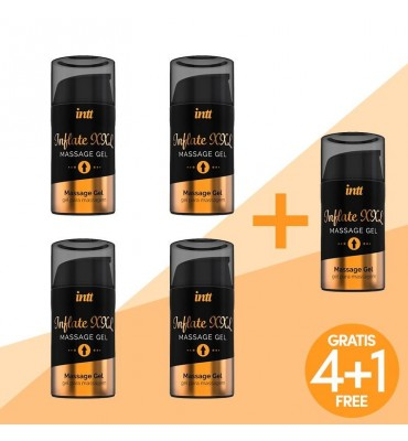 Pack 41 Gel Potenciador de la Ereccion Inflate XXL 15ml