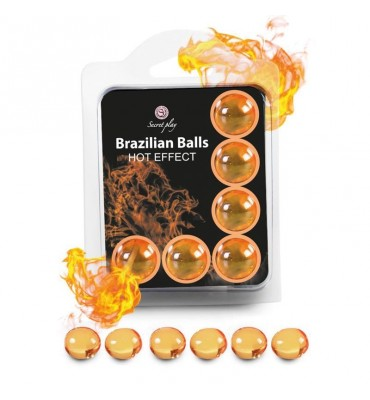 Brazilian Balls Set 6 Efecto Calor