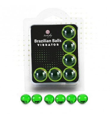 Brazilian Balls Set 6 Efecto Vibracion