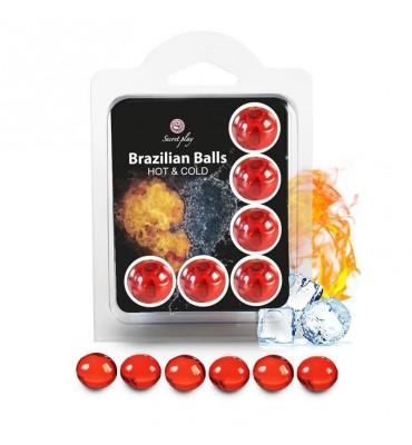 Brazilian Balls Set 6 Efecto Calor Frio