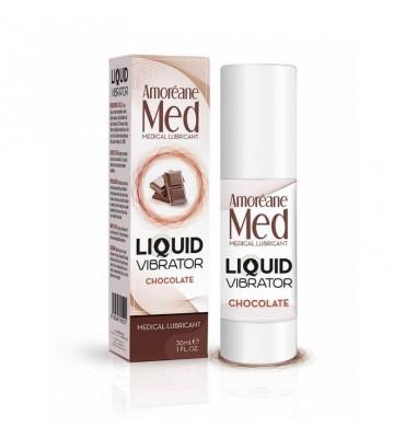 Vibrador Liquido Sabor Chocolate 30 ml