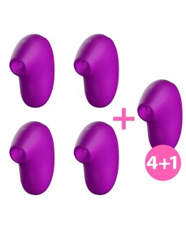 Pack 41 Cult Succionador Clitoris Ondas Energeticas New Generation Purpura