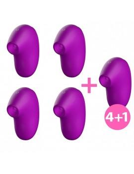 Pack 41 Cult Succionador Clitoris Ondas Energeticas New Generation Purpura