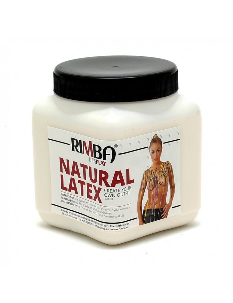 Rimba Latex Play Liquid Latex Transparente