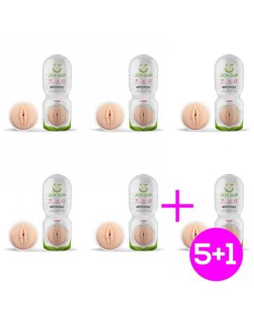 Pack 5 1 Masturbador Vagina Apasionante