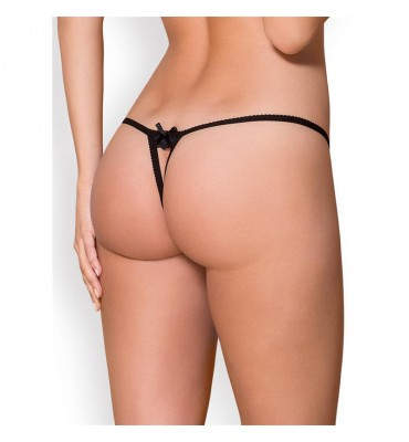 866-THO-1 Tanga Color Negro
