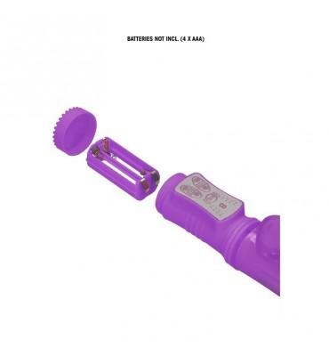 Vibrador Thrusting Rabbit Purpura