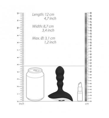 Sono 32 Extension +2.5cm Pene Con Anilla Testículos Negro