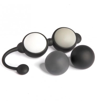 Fifty Shades of Grey Beyond Aroused Bolas de Kegel Set Negro