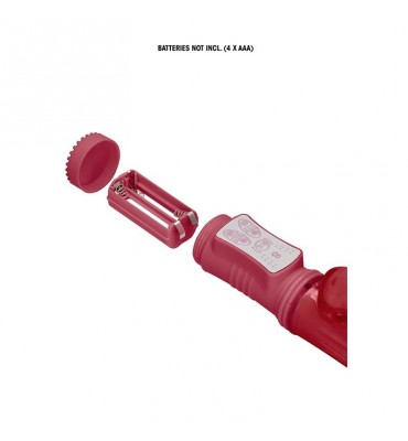 Rotador Beetle 22 cm Punto G Rojo