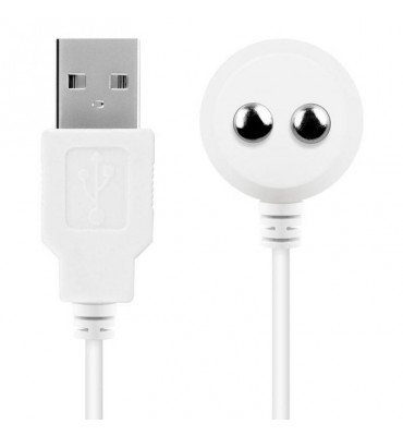 Cable Magnetico USB Blanco