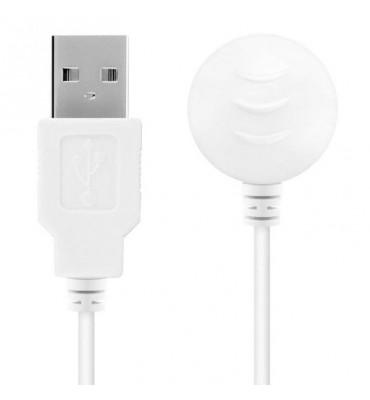 Cable Magnético USB Blanco